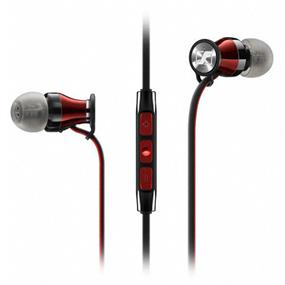 Sennheiser HD 1 - In-Ear Headphones for Samsung Galaxy and Android Devices (Black/Red)
