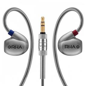 RHA T10 - Stainless Steel In-Ear Headphone w/ Custom Tuning System