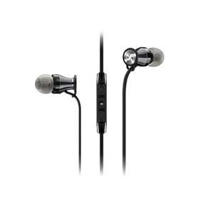 Sennheiser HD 1 - In-Ear Headphones for iOS Devices (Black/Chrome)