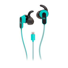JBL Reflect Aware Sport Earphones with Noise Cancellation & Adaptive Noise Control (Teal, iOS)