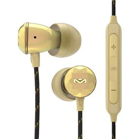 House of Marley Nesta In-Ear Headphones (Gold)
