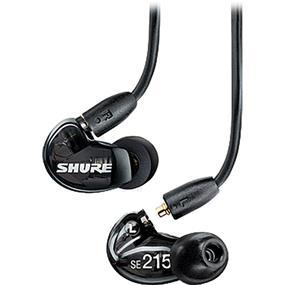 Shure SE215 - Sound-Isolating In-Ear Stereo Earphones (Black)