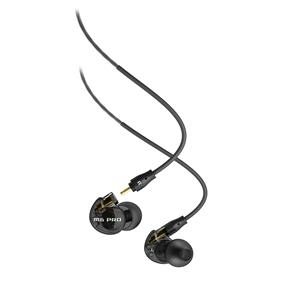 MEElectronics M6 PRO Universal-Fit Noise-Isolating Musician's In-Ear Monitors with Detachable Cables (Smoke)