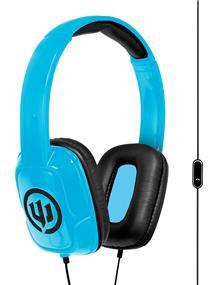 Wicked Audio Sentinel Headphones with Mic (Blue)