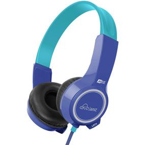 MEElectronics KidJamz - Safe Listening Headphones for Kids (Blue)