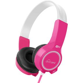 MEElectronics KidJamz - Safe Listening Headphones for Kids (Pink)