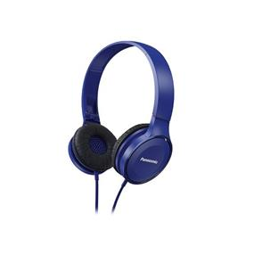 Panasonic RP-HF100 - High Quality On-Ear Headphones (Blue)