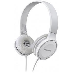 Panasonic RP-HF100 - High Quality On-Ear Headphones (White)