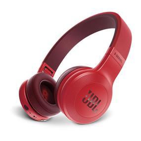 JBL E45BT Bluetooth On-Ear Headphones (Red)