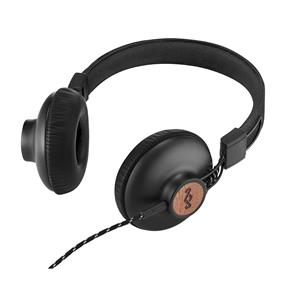 House of Marley Positive Vibration 2 On-Ear Headphones with Universal Remote & Microphone (Signature Black)