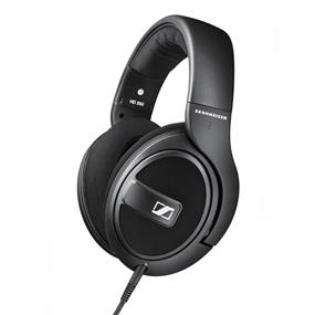 Sennheiser  HD 569 - Closed-Back Around-Ear Headphones with 1-Button Remote Mic (Black)