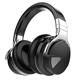 Cowin E-7 KY Active Noise Cancelling Wireless Bluetooth Over-ear Stereo Headphones, Black