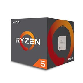 AMD Ryzen 5 1400 Quad-Core, 8 Threads Processor with Wraith Spire Cooler