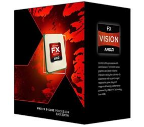 AMD X8 FX-8350 (125W) Eight-Core Socket AM3+, 4GHz CPU, 8Mb Cache, 32nm (FD8350FRHKBOX)