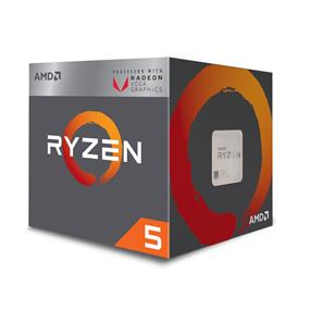 AMD Ryzen 5 2400G 4-Core/8-Thread Processor with Radeon VEGA 11 Graphics