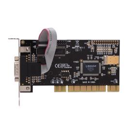 SYBA (SD-LP-MCS2S) PCI Low Profile 2 port Serial Card