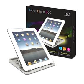 Vantec Accessory (TAC-100-WHT) Table Stand 360 Fits All iPads/Tables/Tablet PCs/eBook White Retail