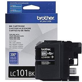 Brother LC-101 Black Ink Cartridge (LC101BK)