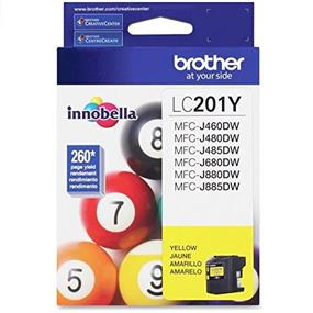 Brother LC201 Yellow High Yield Ink Cartridge (LC201YS)