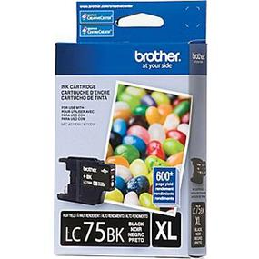 Brother LC-75 XL Black  Ink Cartridge (LC75BK)