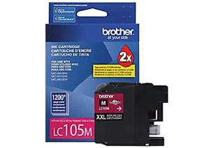 Brother Innobella LC105MS Ink Cartridge - Magenta - Inkjet - Super High Yield - 1200 Page
