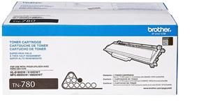 Brother TN780 Toner Cartridge - Laser - High Yield - 12000 Page