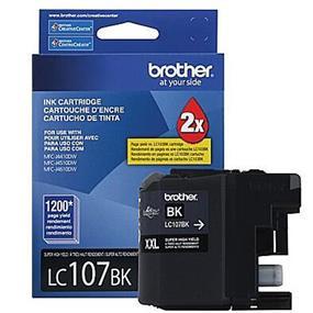 Brother LC-107 XXL Black Ink Cartridge (LC107BK)