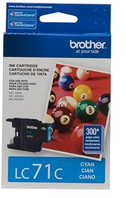 Brother LC-71 Cyan Ink Cartridge (LC71CS)