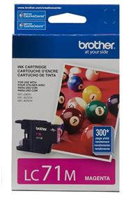 Brother LC-71 Magenta Ink Cartridge (LC71MS)