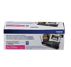Brother TN336M  Magenta Toner Cartridge(TN336M)