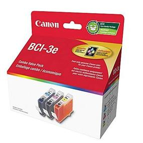 Canon BCI-3e Tri-Colour Ink Tanks (4480A255)