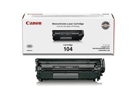 Canon 104 Black Toner Cartridge (0263B001)
