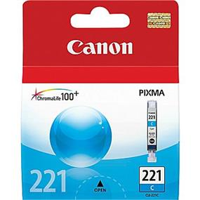 Canon CLI-221 Cyan Ink Cartridge (2947B001)