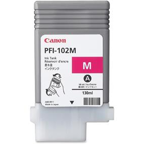 Canon PFI-102M - Dye Magenta Ink Tank 130ML (0897B001)