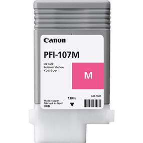 Canon PFI-107 Magenta Ink (130ml) for IPF670 / 680 / 685 / 770 / 780 / 785 (6707B001)