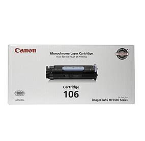 Canon 106 Black Toner Cartridge (0264B001)