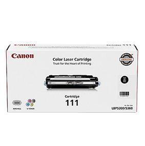 Canon 111 Toner Cartridge - Black - Laser (1660B008)