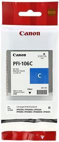 Canon PFI-106 Cyan 130ml Ink Tank (6622B001)