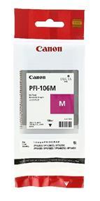 Canon PFI-106 Magenta 130ml Ink Tank (6623B001)