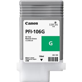 Canon PFI-106 Green 130ml Ink Tank (6628B001)