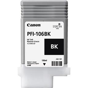 Canon PFI-106 Black Ink Cartridge(6621B001)