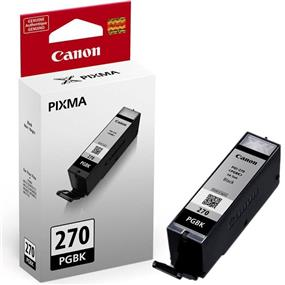 Canon PGI-270BK Black Ink Cartridge (0373C001)