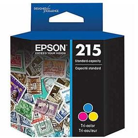 Epson 215 Tri-Color Ink Cartridge (T215530-S)