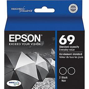 Epson 69 Black Ink Cartridge (T069120-S)