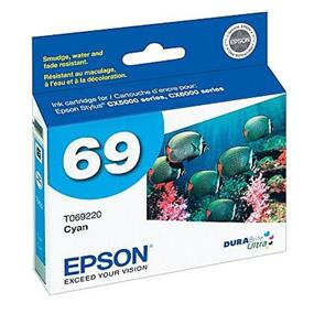 Epson 69 Cyan Ink Cartridge (T069220-S)