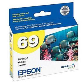 Epson 69 Yellow Ink Cartridge (T069420-S)