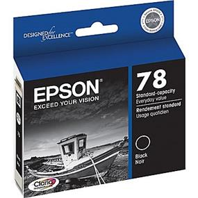 Epson 78 Black Ink Cartridge (T078120-S)
