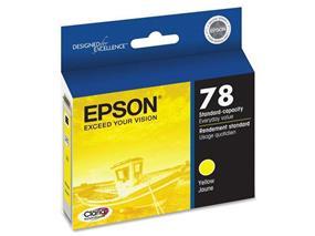 Epson 78 Yellow Ink Cartridge (T078420-S)