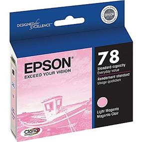 Epson 78 Light Magenta Ink Cartridge (T078620-S)