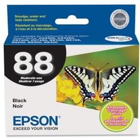Epson 88 Black Ink Cartridge (T088120-S)